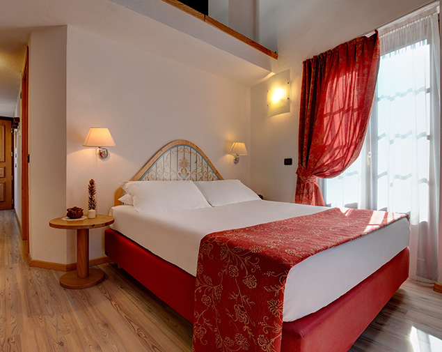 iH Hotels Courmayeur Mont Blanc albergo 4 stelle courmayeur camera